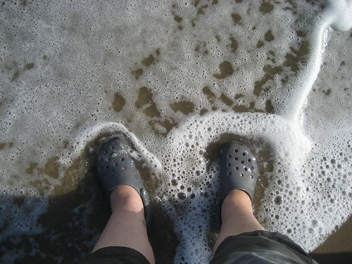 My feet, Pacific Ocean