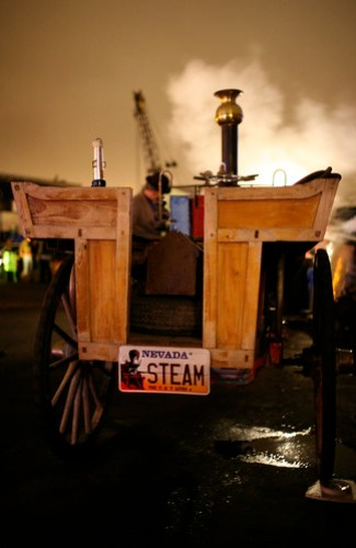 Neverwas Runabout Steam Engine