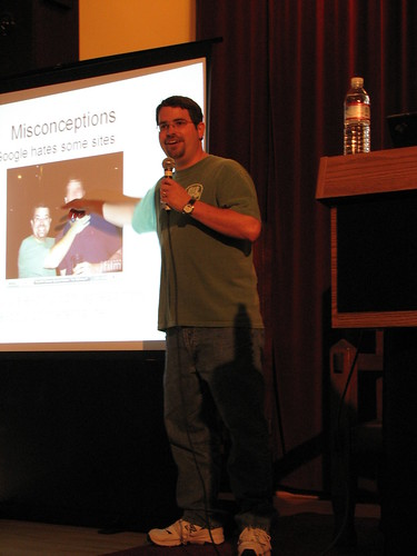 WordCamp 2007 Matt Cutts