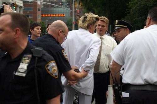 Arrested For Preaching First Amendment at Critical Mass