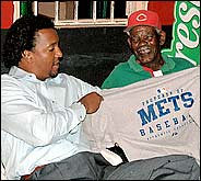 Pedro Martinez & Dominican Fan
