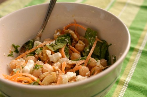 chickpea-walnut salad ii