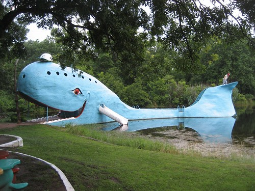 Big Blue Whale in Catoosa