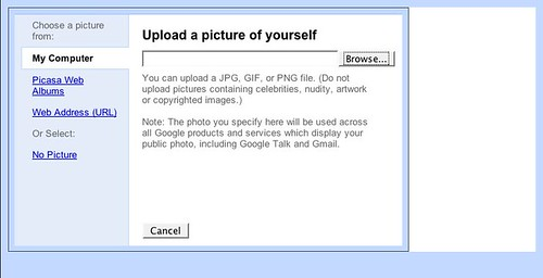 Your Shared Stuff -- Upload Picture