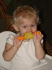 First corn on-the-cob