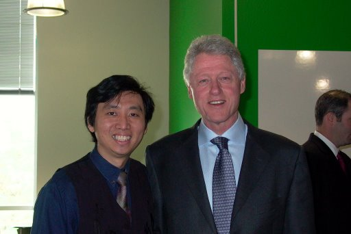 Chad Meng & Bill Clinton