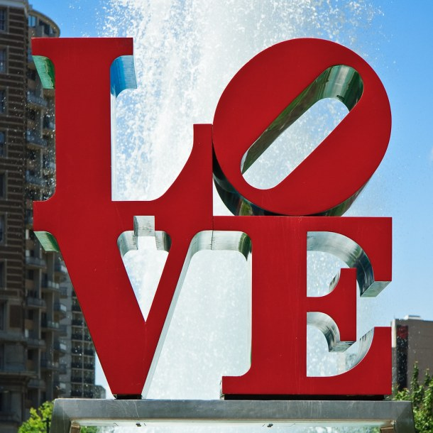 Robert Indiana's LOVE