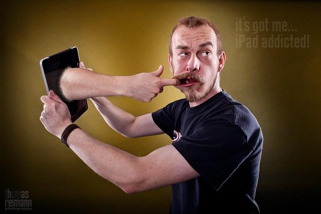 iPad addicted...