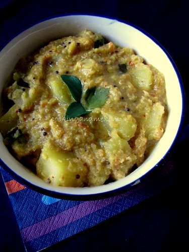 Potato Sagu / Aloo Sagu Recipe