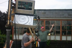 Homemade camera crane jib