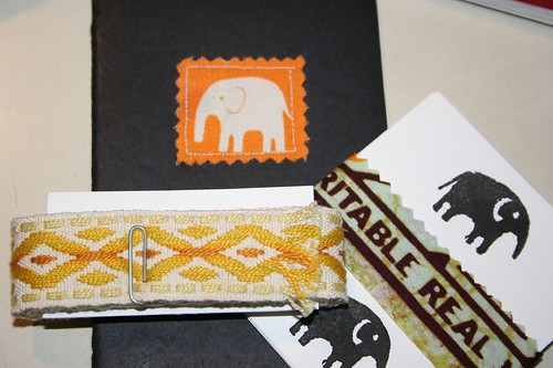 elephants, paper and yellow