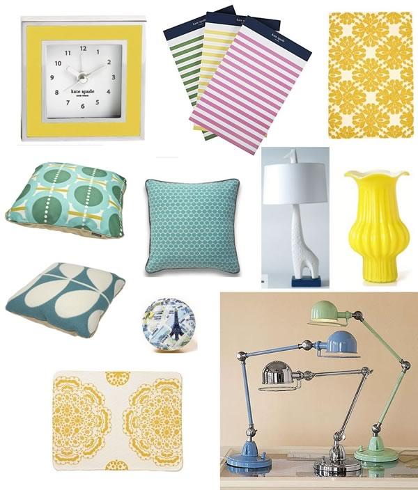 Craving Yellow & Blue: Wish List