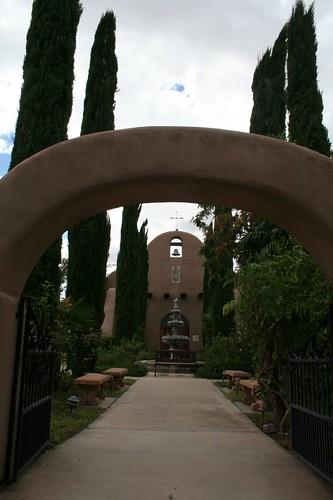 Sanctuary walkway