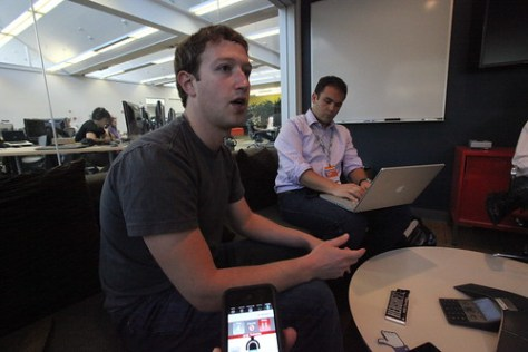 Mark Zuckerberg interviewed by Financial Times, Scobleizer, and Techcrunch