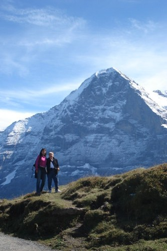 Mom, Doreen, and the Eiger