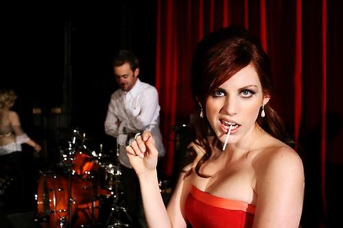 Jessie Farrell and lollipop