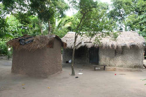typical mozambican housing