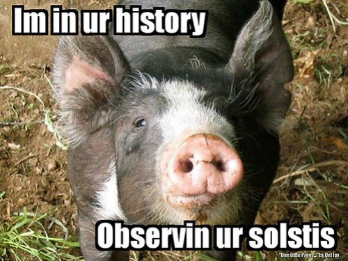 Astronomical piggy