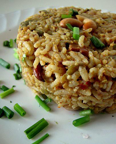 Vangi Bhath-Vangi Bath-Brinjal Rice Recipe-How to make Vangi Bath