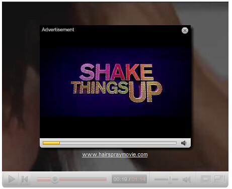 ejemplo de publicidad dentro de los vídeos de Youtube