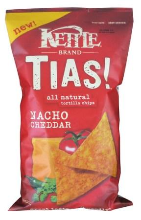 Kettle Brand Nacho Cheddar Tias!