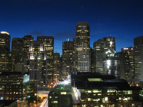 Downtown San Francisco By Night 9