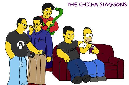 Chicha- Simpsons