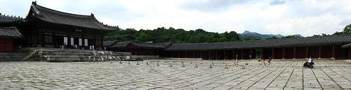 Main Courtyard, Changgyeonggung Palace