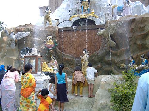 Temple in Mayur Vihar