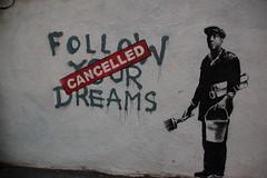 Banksy in Boston: F̶O̶L̶L̶O̶W̶ ̶Y̶O̶U̶R̶ ̶D̶R̶...