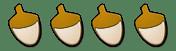 Four Acorns