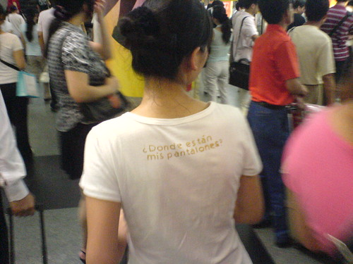 Amusing shirt