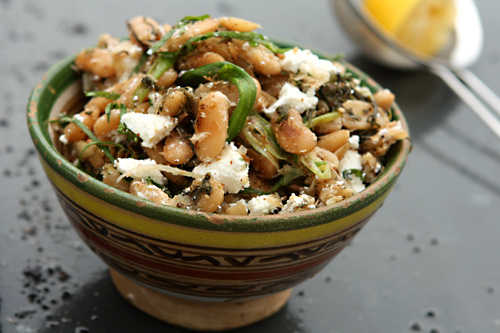 Ottolenghi's Fried Beans with Sorrel, Feta & Sumac - David ...