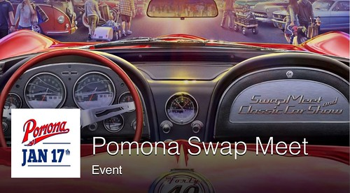"POMONA CA USA - ""Pomona Swapmeet and Classic Car Show"" Sunday  - January 17 - 5am to 2pm  - at the Fairplex - Pomona Swap Meet credit: www.SoCalCarCulture.com • <a style=""font-size:0.8em;"" href=""http://www.flickr.com/photos/134158884@N03/24374627476/"" target=""_blank"">View on Flickr</a>"