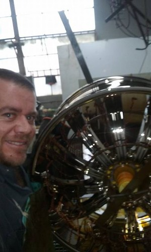 "Happy Friday. A long week, but we got it done.  Meet ""Master Electroplater"" Luis H. Mastermind of wheel plating and custom tooling creation. When it comes to figuring things out or troubleshooting he is our man. • <a style=""font-size:0.8em;"" href=""http://www.flickr.com/photos/134158884@N03/23924852884/"" target=""_blank"">View on Flickr</a>"