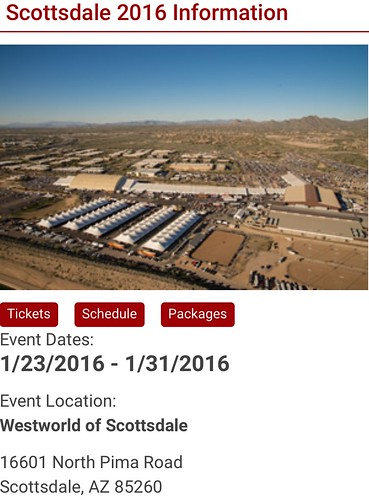 """SCOTTSDALE AZ USA - """"Barrett Jackson Auction Scottsdale"""" January 23 to 31 - Saturday to Sunday Week - """"VELOCITY and DISCOVERY CHANNEL to air 36 hours of live coverage OF THE BARRETT-JACKSON SCOTTSDALE AUCTION IN JANUARY 2015"""" - www.barrett-jackson.com • <a style=""""font-size:0.8em;"""" href=""""http://www.flickr.com/photos/134158884@N03/24499618496/"""" target=""""_blank"""">View on Flickr</a>"""