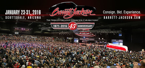"""SCOTTSDALE AZ USA - """"Barrett Jackson Auction Scottsdale"""" January 23 to 31 - Saturday to Sunday Week - """"VELOCITY and DISCOVERY CHANNEL to air 36 hours of live coverage OF THE BARRETT-JACKSON SCOTTSDALE AUCTION IN JANUARY 2015"""" - www.barrett-jackson.com • <a style=""""font-size:0.8em;"""" href=""""http://www.flickr.com/photos/134158884@N03/23924848854/"""" target=""""_blank"""">View on Flickr</a>"""