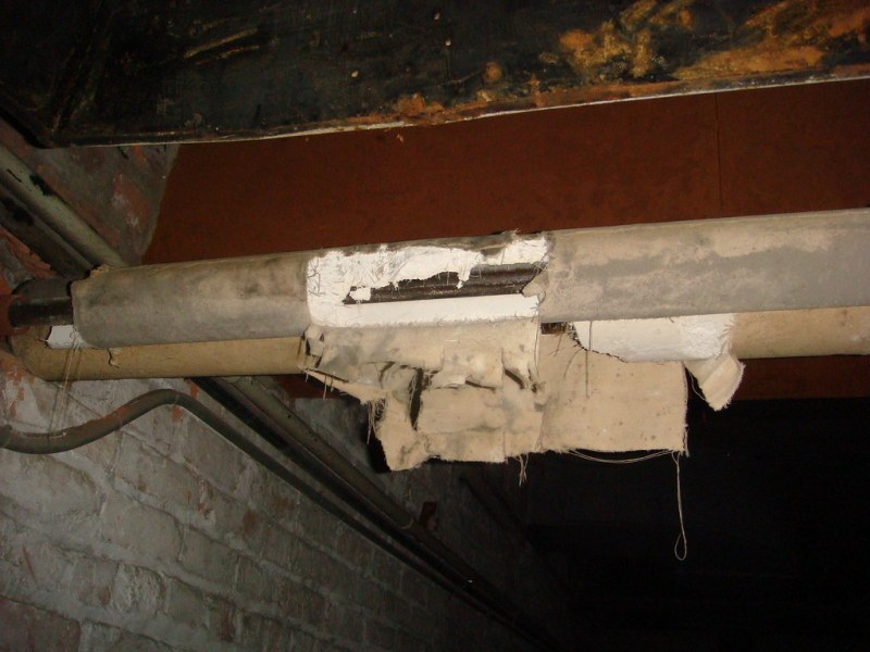 Large Of Asbestos Pipe Insulation