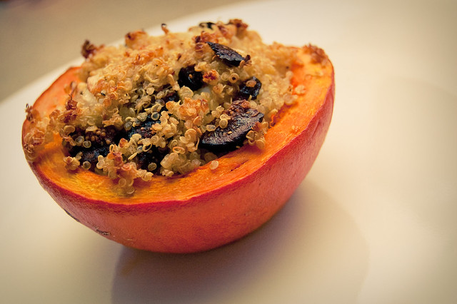Kuri Squash with Quinoa, Fennel & Fig