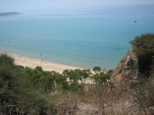 best Sicily beaches, Eraclea Minoa