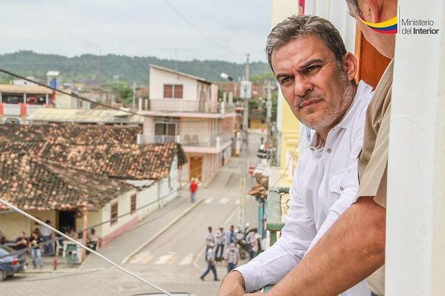 Ministro del Interior José Serrano se reunió con sectores sociales en Zapotillo