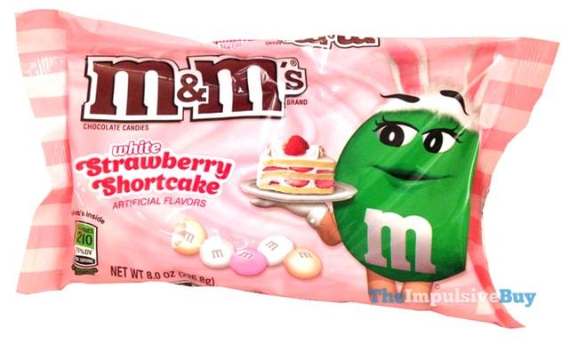 White Strawberry Shortcake M&M's