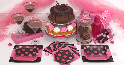 chocolate party ideas