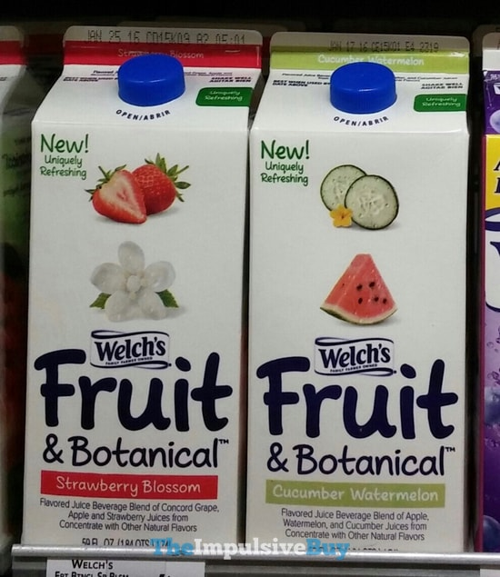 Welch's Fruit & Botanical (Strawberry Blossom and Cucumber Watermelon)