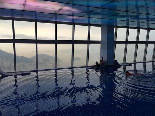 Hotel Pool Photo Bomb
