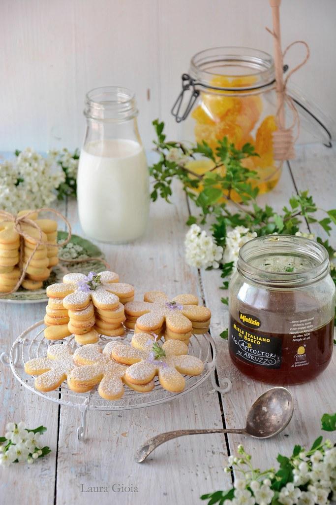 biscotti riso e miele (mielizia)