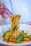 Chilli Prawn Linguini, $24.95: Bondi Pizza, Macquarie. Sydney Food Blog Review