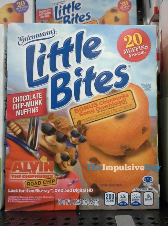 Entenmann's Little Bites Chocolate Chip-Munk Muffins
