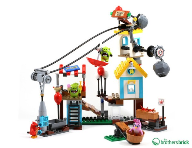 Angry Birds 75824 Review TBB Completed Build
