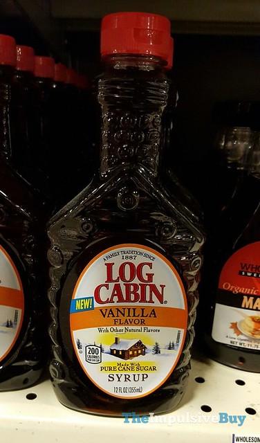 Log Cabin Vanilla Flavor Syrup